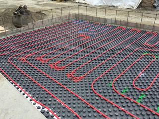 Insulated Floor Panel Systems Radiant